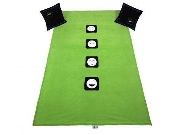 Покрывало + 2 подушки LOL Меблик