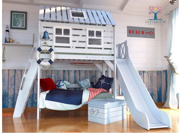 Детская комната БЕЛЫЙ КИТ CLEVEROOM