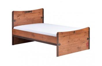 Детская кровать (без матраса) сп. м. 100х200 CILEK BLACK PIRATE KS-1314