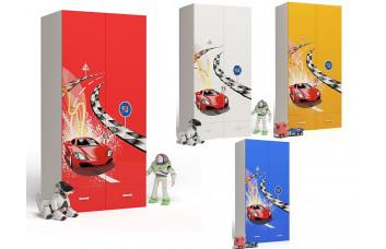 Детский шкаф 2-х дверный Formula ABC-King