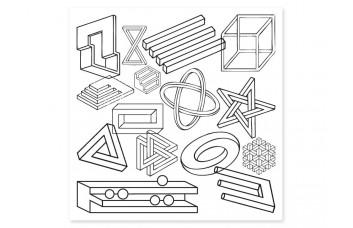 Накладка для фасада - Невозможные фигуры YOUNG USERS