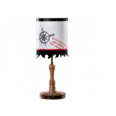 AKS-6313 Настольная лампа BLACK PIRATE CILEK
