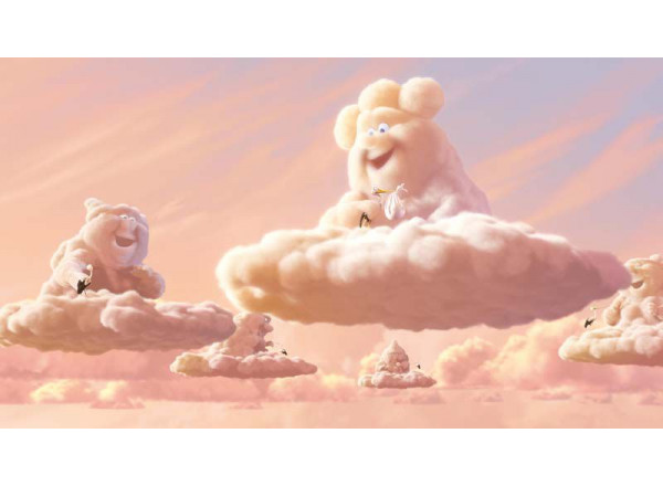 Фотообои Аист и облако