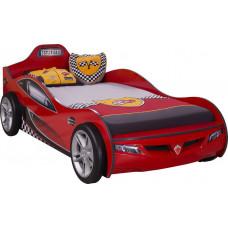 Кровать машина COUPE 1304 красная (без матраса) CILEK