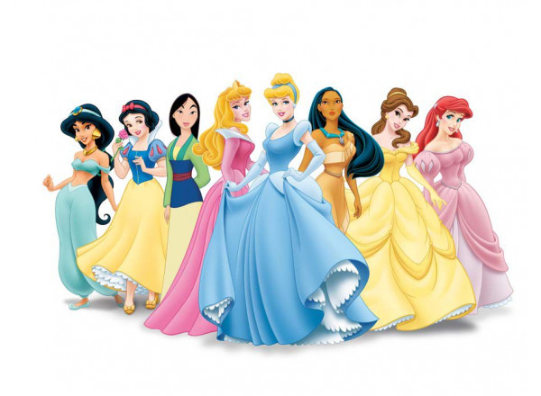Фотообои Диснеевские принцессы
