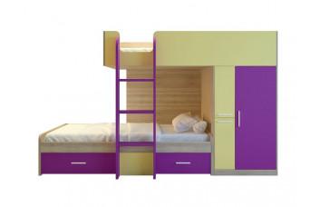 Двухъярусная кровать Geko-05 Миларосо
