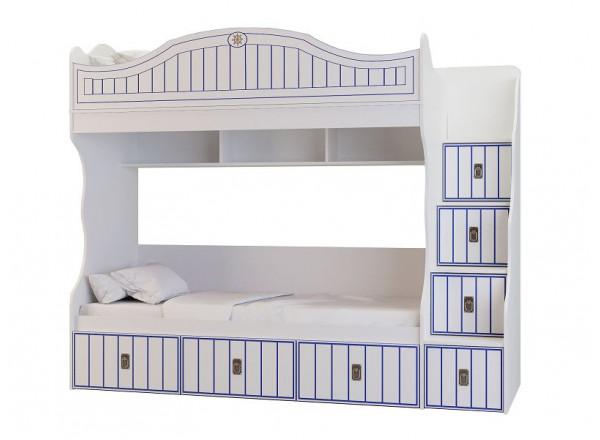Детская двухъярусная кровать Милароса Капитан Р-05