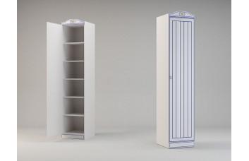 Детский шкаф с 1 дверью для одежды Миларосо КАПИТАН К-19