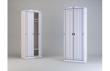 Детский шкаф с 2-мя дверьми Миларосо КАПИТАН К-21
