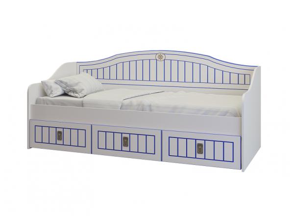 Детская кровать-диван Милароса КАПИТАН К-40