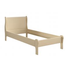 Кровать Ладья без изножья 90х150 Французкие мотивы