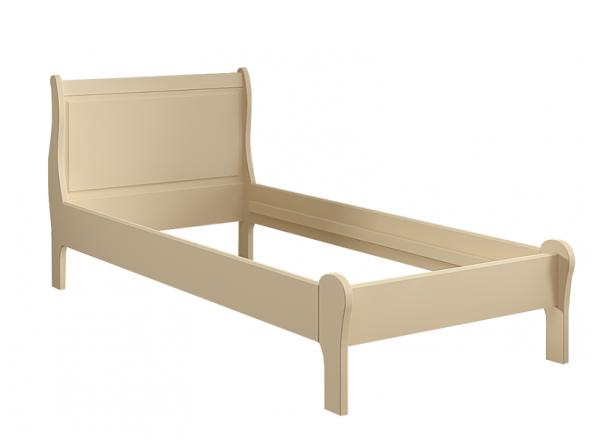 Кровать Ладья без изножья 90х190 Французкие мотивы