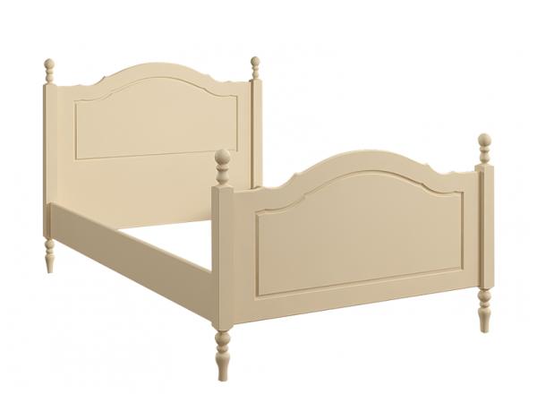Кровать резная 120х190 Французкие мотивы