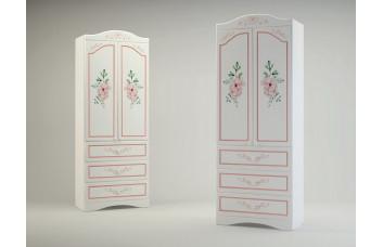 ПРОВАНС Шкаф с 2-мя дверьми и 3-мя ящками Р-22 (Миларосо)