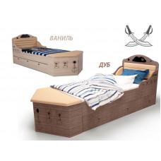 Кровать Pirat с низким изножьем