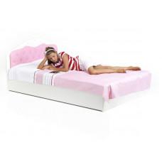 Кровать классика ABC-KING  Princess 120Х190 со стразами SWAROVSKI