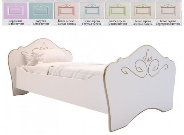 Кровать односпальная RM-01 (Милароса)