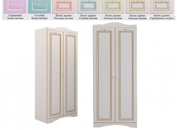 Шкаф с 2-мя дверьми RM-21 Ромео (Миларосо)