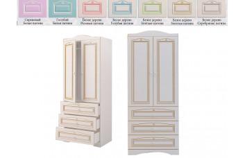 Шкаф с 2-мя дверьми и 3-мя ящиками RM-22 Ромео (Миларосо)