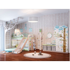 Детская комната Совы CLEVEROOM