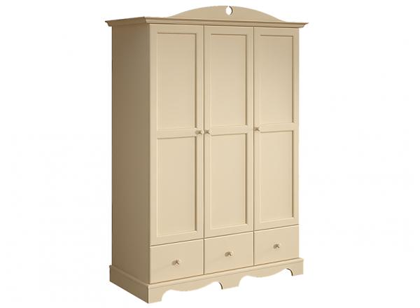 Шкаф платяной 3-х дверный Французкие мотивы