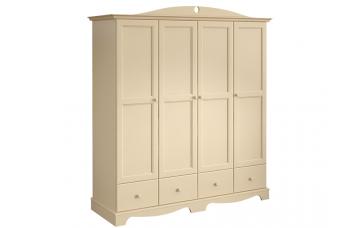 Шкаф платяной 4-х дверный Французкие мотивы