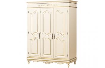 Шкаф 3-створчатый роспись с золотом