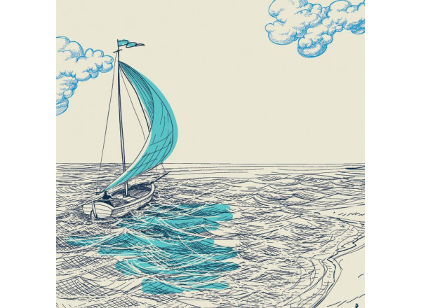 Фотообои Лодка