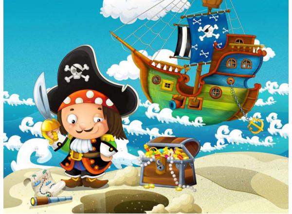 Фотообои Пират