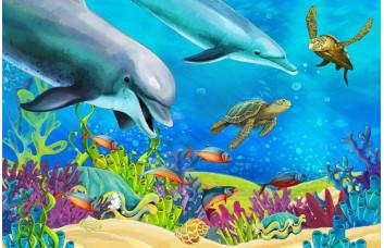 Фотообои Дельфины 006