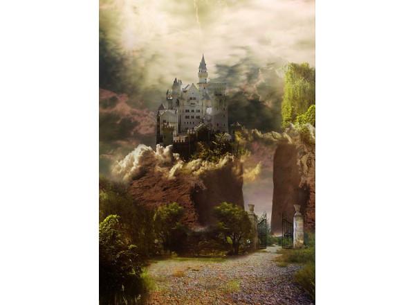 Фотообои Каменный замок