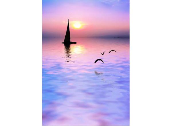 Фотообои Лодка 001