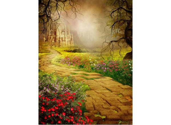 Фотообои Тропинка к замку