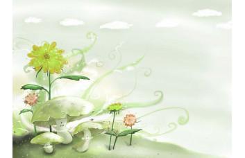 Фотообои Белые грибы