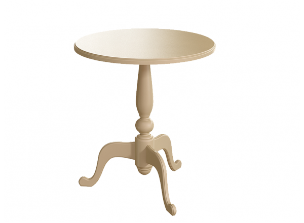 Стол круглый кофейный без росписи