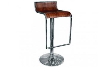 Барный стул Crack Walnut