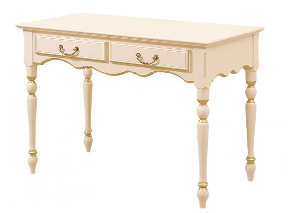 Столик туалетный роспись с золотом