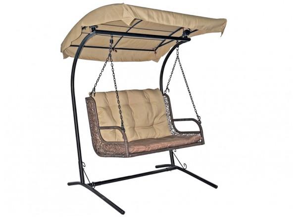 Подвесное кресло Качели для двоих TWIN